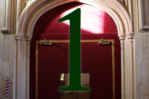 Door 1: The Hall