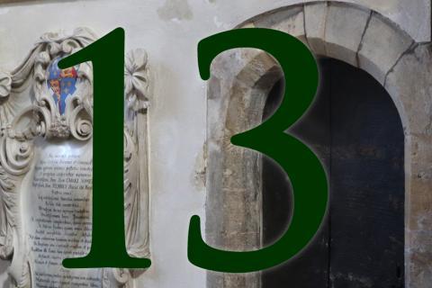 Door 13: North Transept