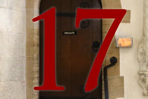 Door 17: Sacristy door