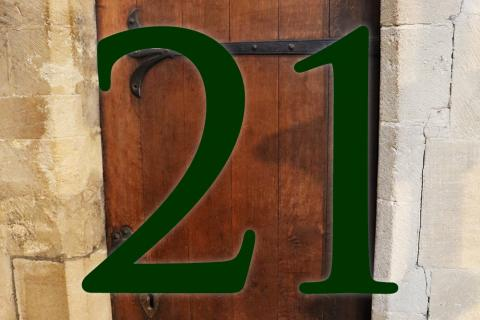 Door 21: Candle store