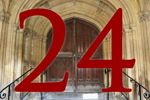 Door 24: Chancel Vault