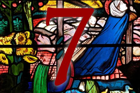 Door 7: St Frideswide window