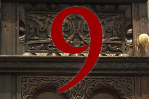 Door 9: Pulpit door
