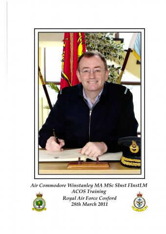 Photo of Air Commodore Tim Winstanley