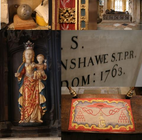 A selection of Objects from the Cathedral