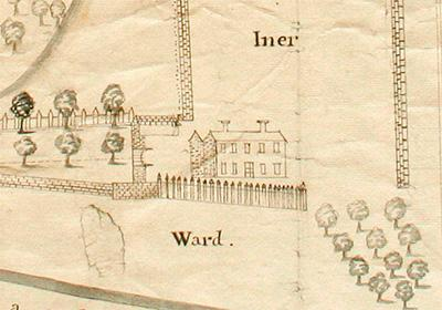 Detail from Christ Church Archives, Maps Wallingford 1