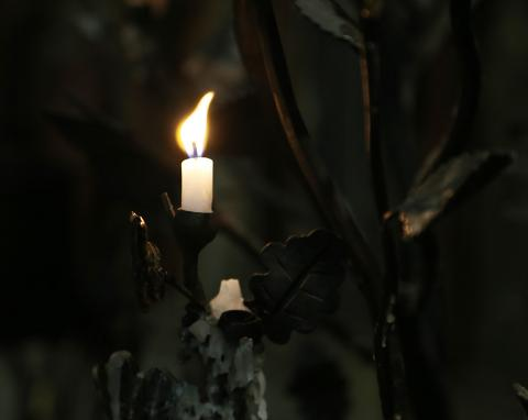Candle in Christ Church Cathedral