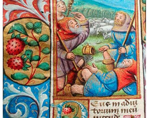 Detail from MS 100