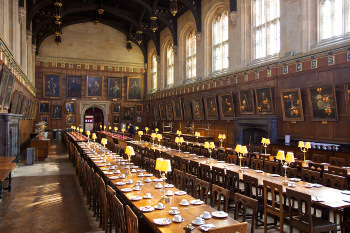 The hall christ church oxford university completed alongside the kitchens in the 1520s the hall has been in almost constant use since the sixteenth century over the years it has hosted some publicscrutiny Choice Image